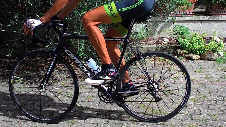 La storia di Mirko, ciclista tornato in sella dopo 2 interventi di artroscopia all'anca