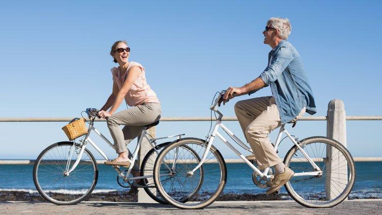 Bicicletta, bene per chi soffre di artrosi dell'anca
