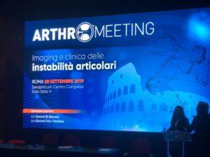 ARTHROMEETING – Imaging e clinica delle instabilità articolari.