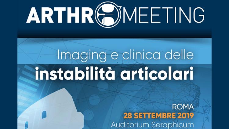 ARTHRO MEETING - Imaging e clinica delle instabilità articolari