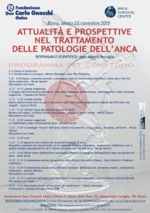 Attualità e prospettive nel trattamento delle patologie dell'anca